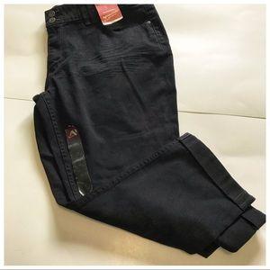 Arizona Jeans Black Capri Juniors Size 19